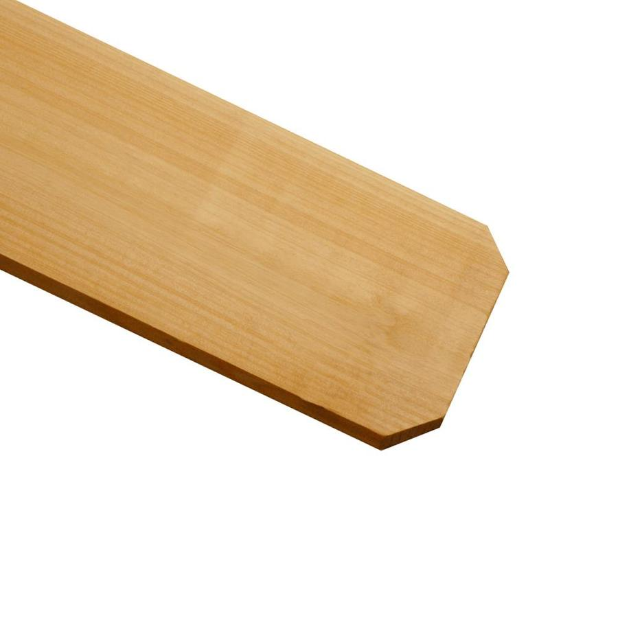 Severe Weather Cedar Fence Picket (Common: 5/8-in x 5-1/2-in x 6-ft; Actual: 0.625-in x 5.5-in x 6-ft)