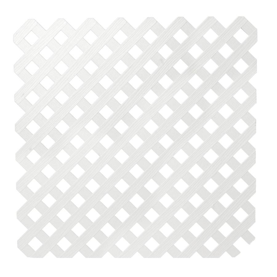 Severe Weather Vinyl Privacy Lattice (Actual: 0.25-in)