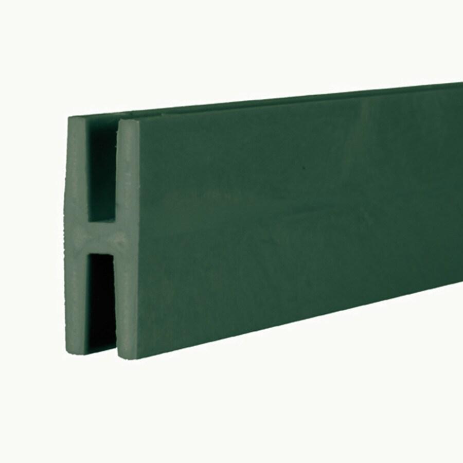 Dark Green Vinyl Lattice Divider (Common: 1-in x 8-ft; Actual: 1.875-in x 0.625-in x 8.03-ft)