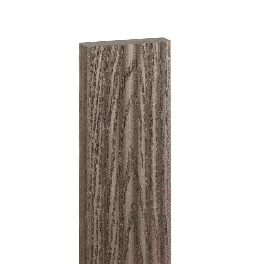 Style Selections Gray Composite Deck Board (Actual: 1-in x 5.44-in x 16-ft)