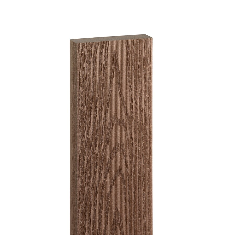 Style Selections Brown Composite Deck Board (Actual: 1-in x 5.44-in x 16-ft)
