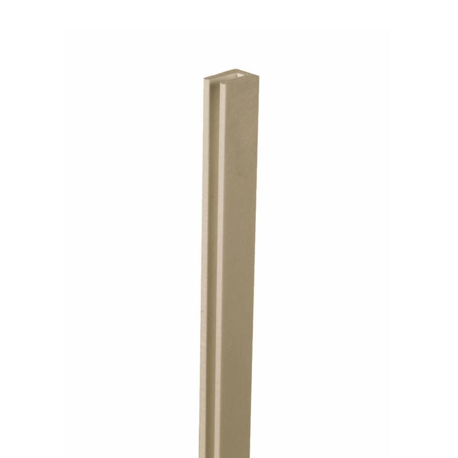 Brownstone Vinyl Lattice Cap (Common: 1-in x 8-ft; Actual: 1-in x 0.625-in x 8.03-ft)