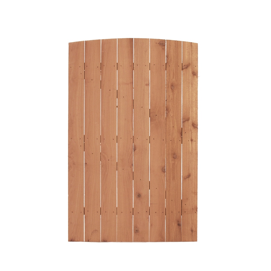 Color Treated Stain Pressure Treated Southern Yellow Pine Privacy Fence Gate (Common: 3.75-ft x 6-ft; Actual: 3.75-ft x 6-ft)