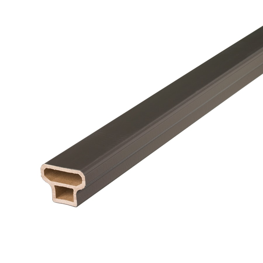 Style Selections 67-in Bronze Composite Deck Railing Kit