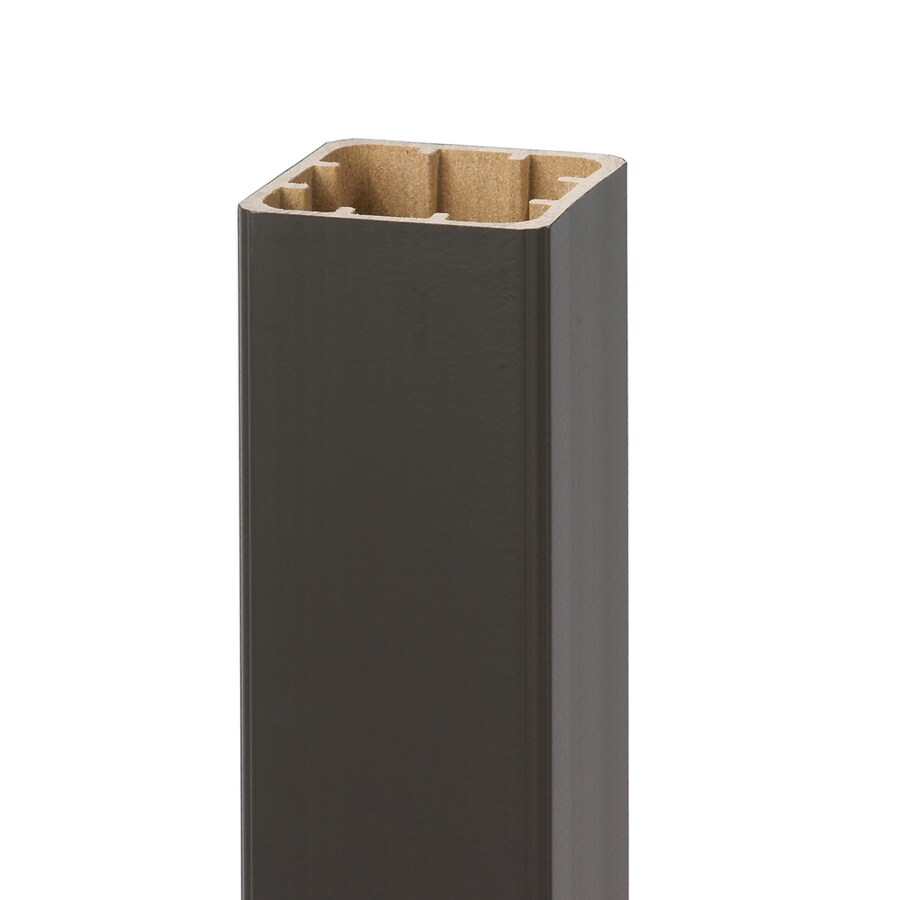 Style Selections 5-in x 5-in x 52-in Bronze Composite Deck Post Sleeve