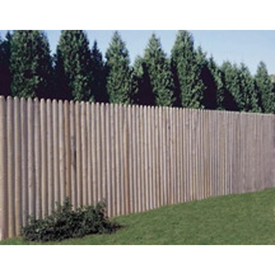 Wood Fencing 6' x 8' Spruce Stockade