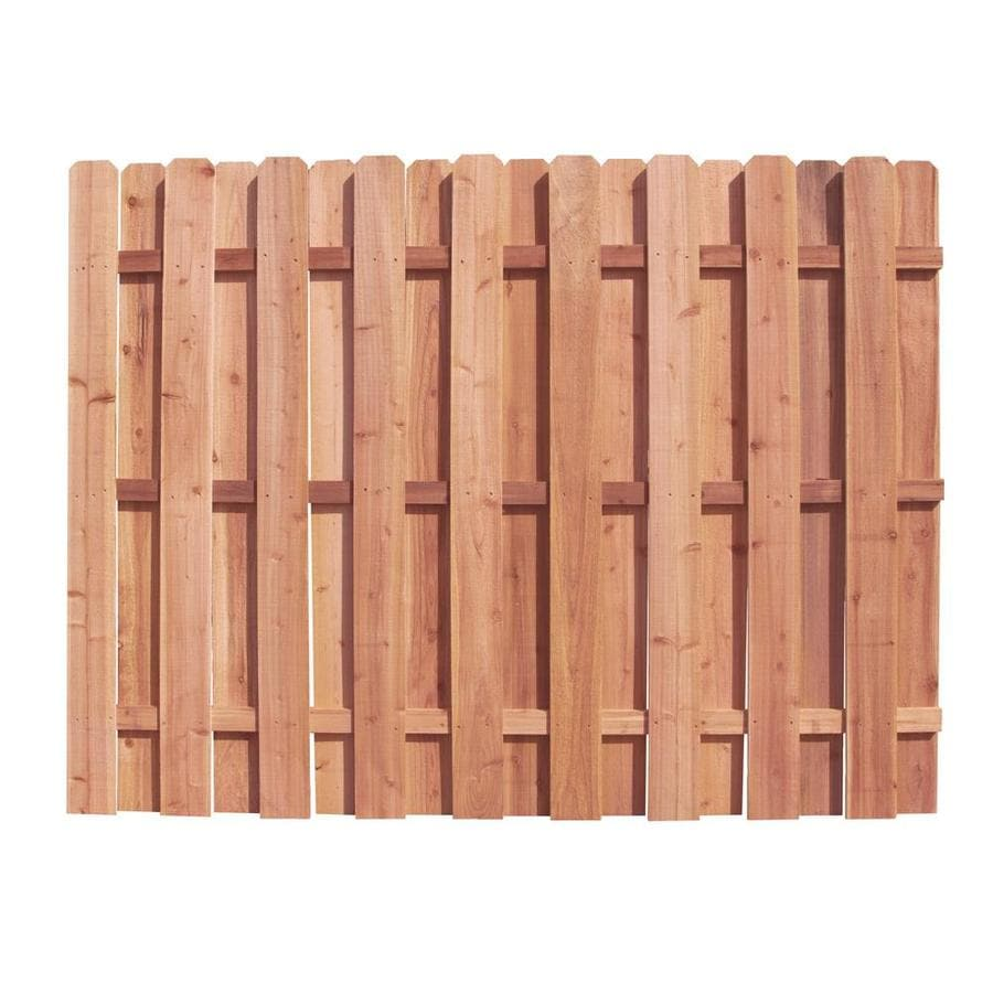 Color Treated Stain Pressure Treated Southern Yellow Pine Privacy Fence Panel (Common: 8-ft x 6-ft; Actual: 8-ft x 6-ft)