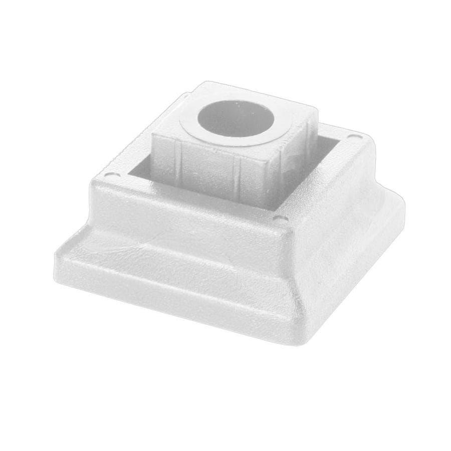 Deckorators White Plastic Baluster Connector