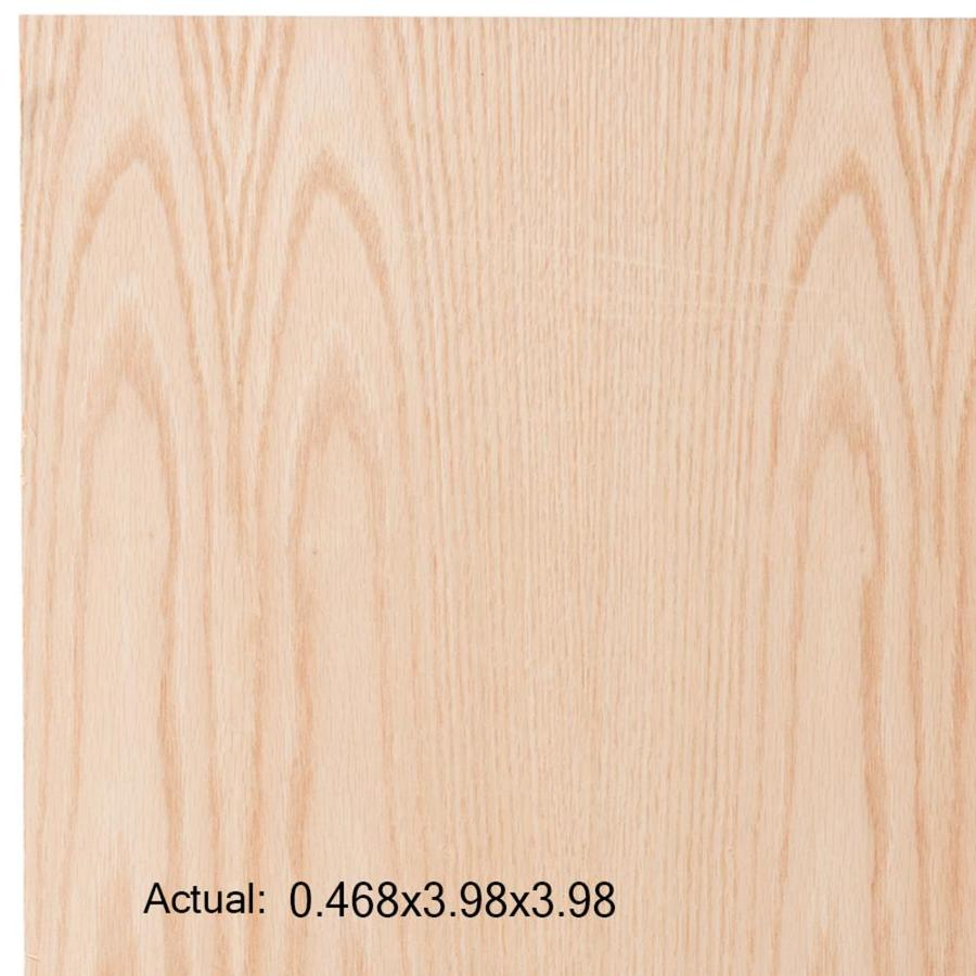 1/2-in Common Oak Plywood, Application as  4 x 4