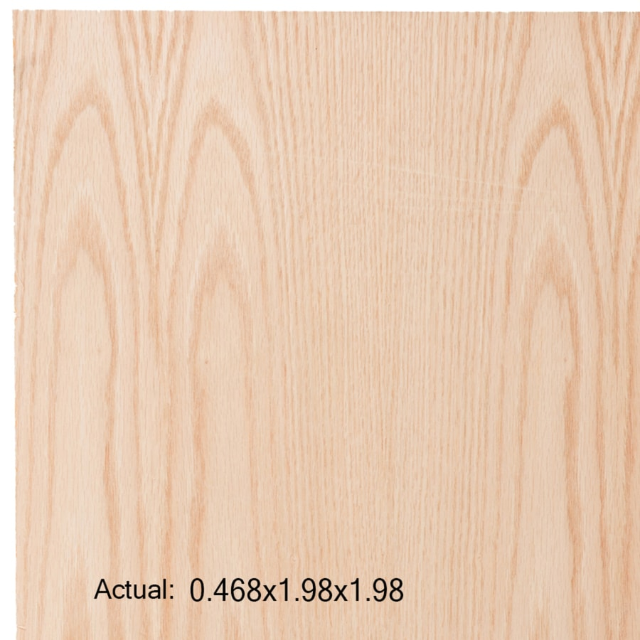1/2-in Common Oak Plywood, Application as  2 x 2
