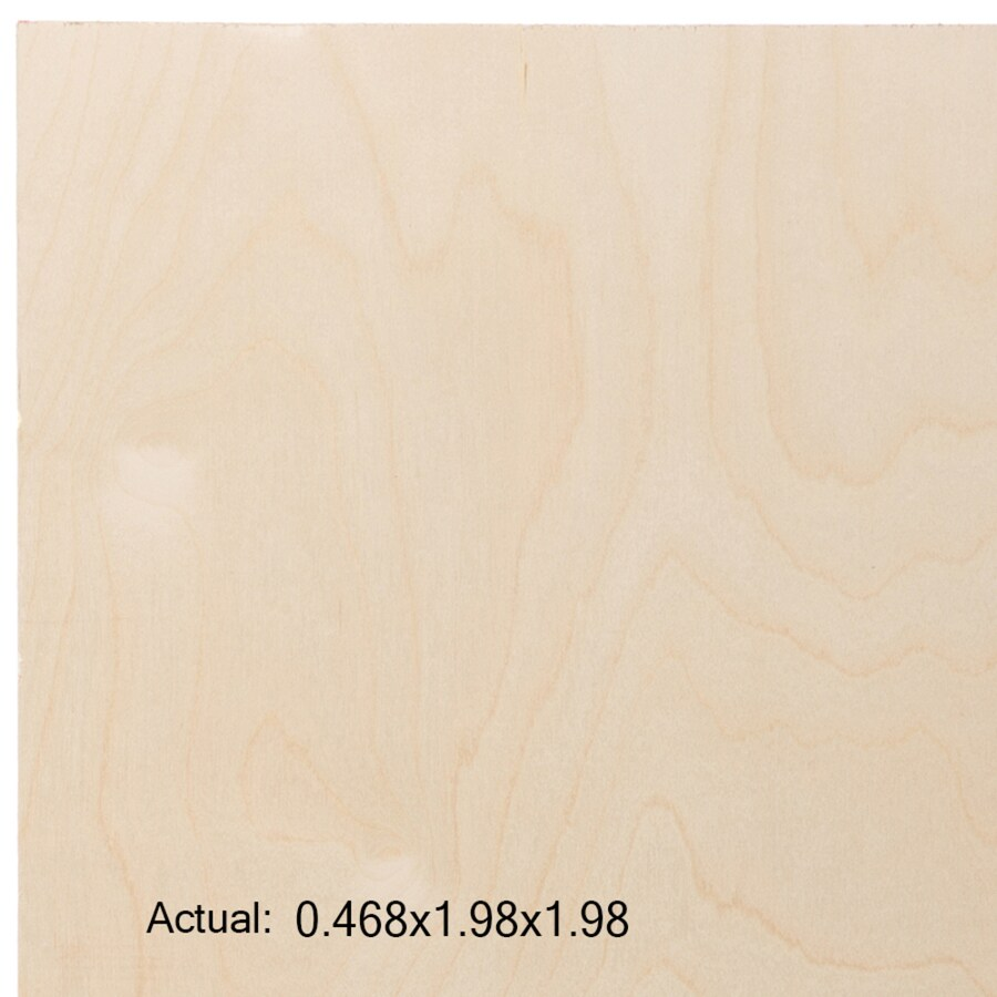 1/2-in Common Birch Plywood, Application as  2 x 2