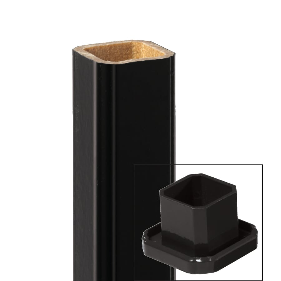 Style Selections 36-in Black Composite Deck Baluster