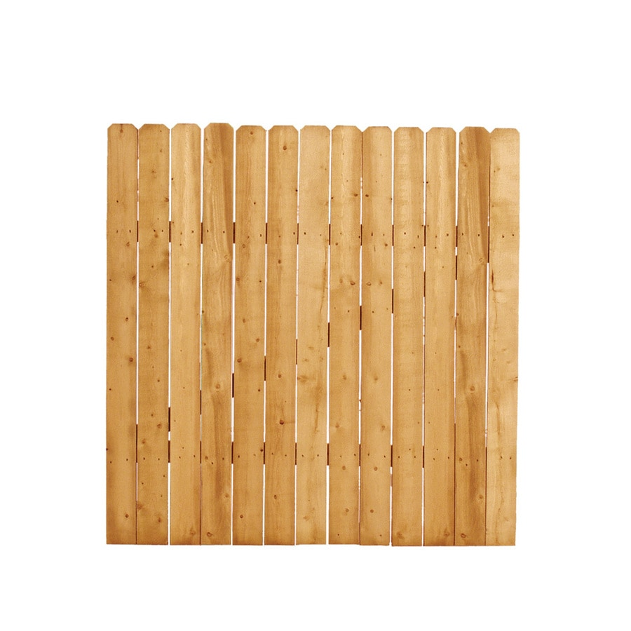 Natural Pressure Treated Spruce Pine Fir Semi-Privacy Fence Gate (Common: 3.5-ft x 4-ft; Actual: 3.5-ft x 4-ft)