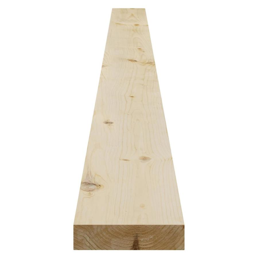 Pattern Stock Spruce/Pine-Fir Board (Common: 2-in x 6-in x 16-ft; Actual: 1.375-in x 5.375-in x 16-ft)