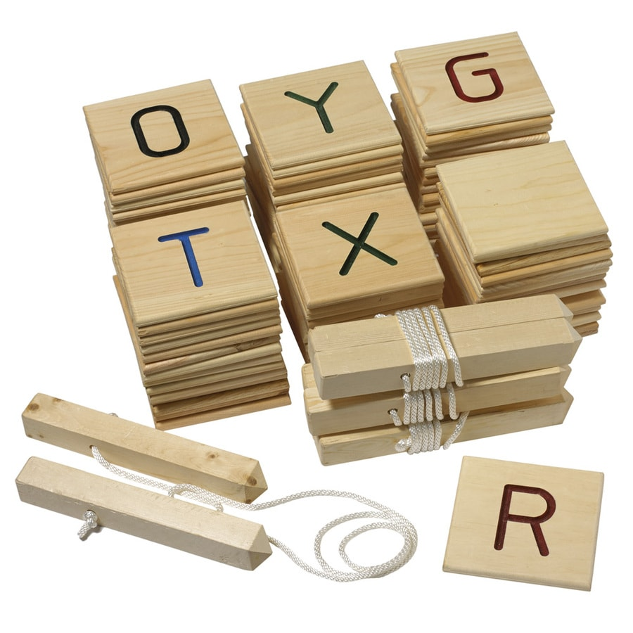 Belknap Hill Trading Post Indoor/Outdoor Word Game Party Game with Case