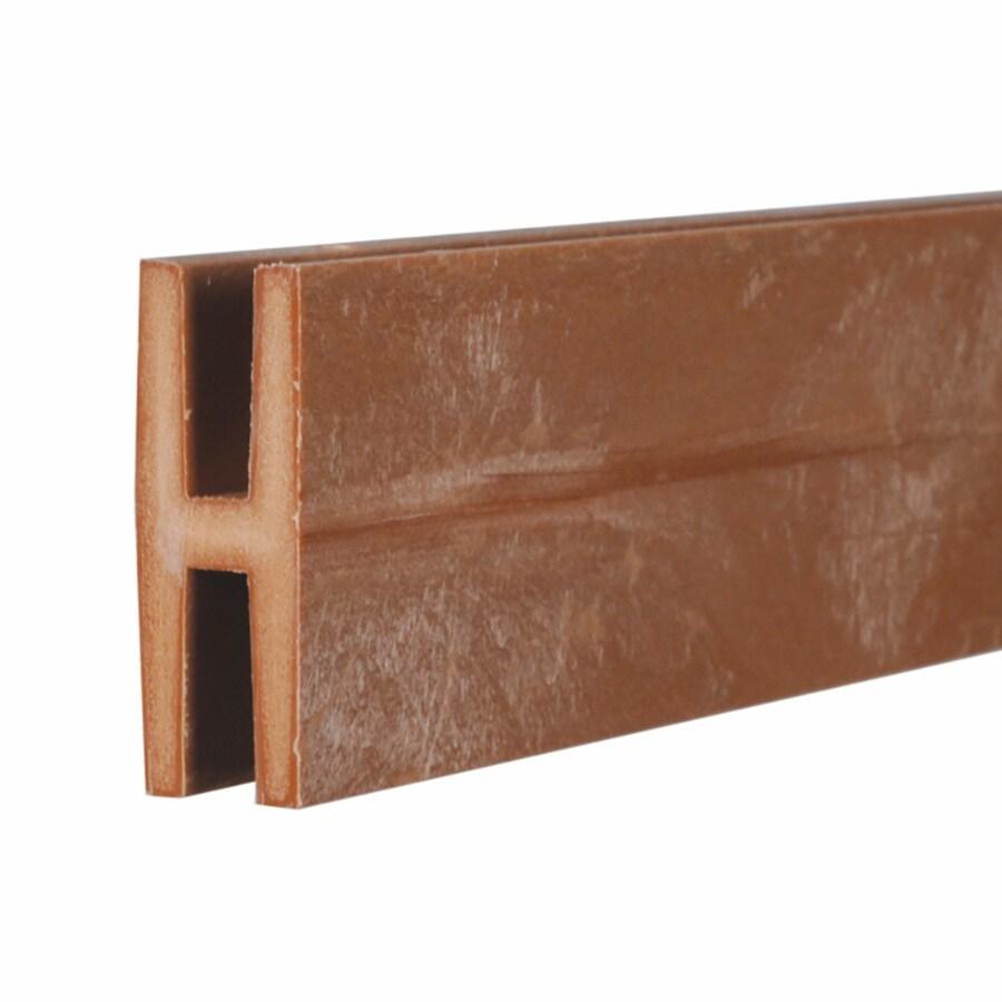 Cedar/Redwood Vinyl Lattice Divider (Common: 1-in x 8-ft; Actual: 1.875-in x 0.625-in x 8.03-ft)