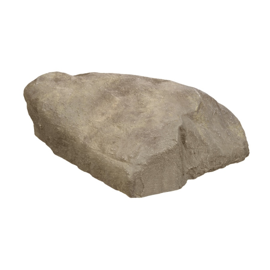Outdoor Essentials 23.5-in W x 31.5-in L x 1.5-in H Artificial Rock Well Pump Cover