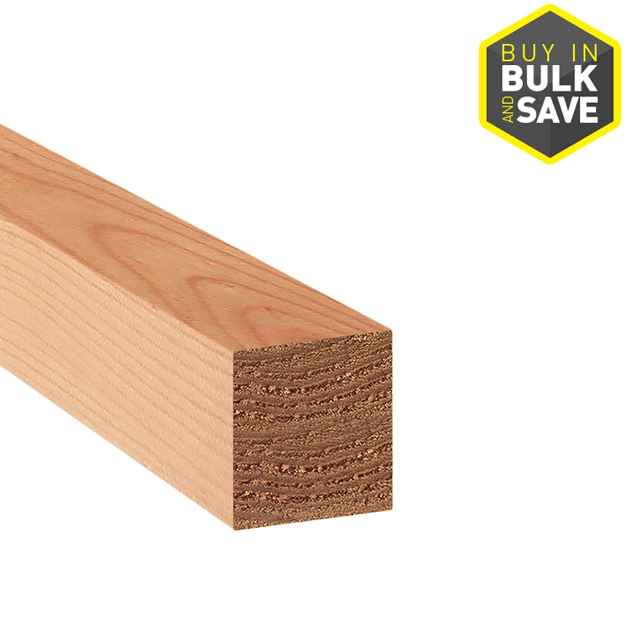 Top Choice (Common: 4-in x 4-in x 10-ft; Actual: 3.5-in x 3.5-in x 10-ft) Lumber