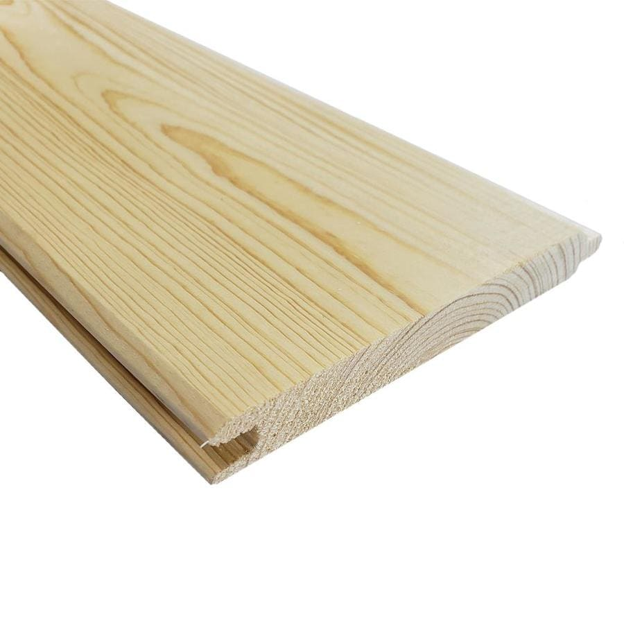 Pattern Stock Whitewood Board (Common: 1-in x 6-in x 8-ft; Actual: 0.75-in x 5.5-in x 8-ft)