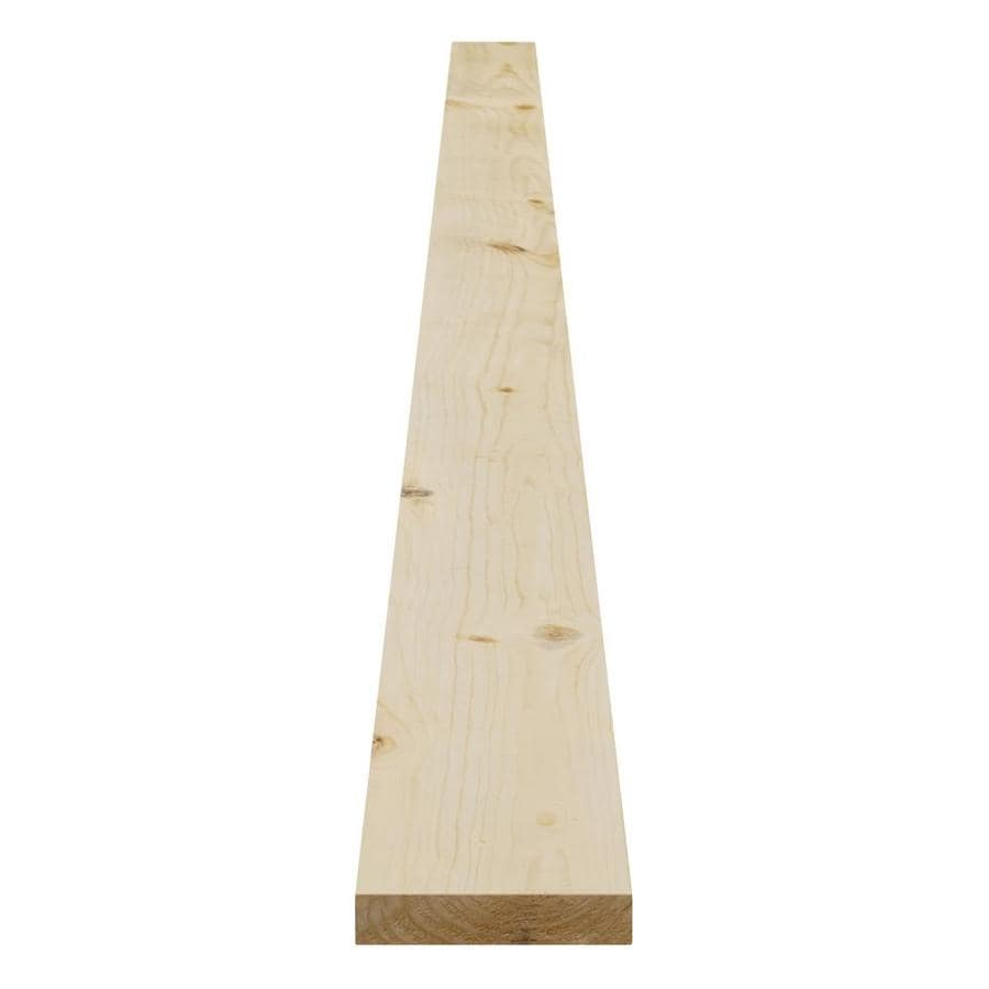 Pattern Stock Spruce/Pine-Fir Board (Common: 1-in x 4-in x 8-ft; Actual: 0.75-in x 3.5-in x 8-ft)