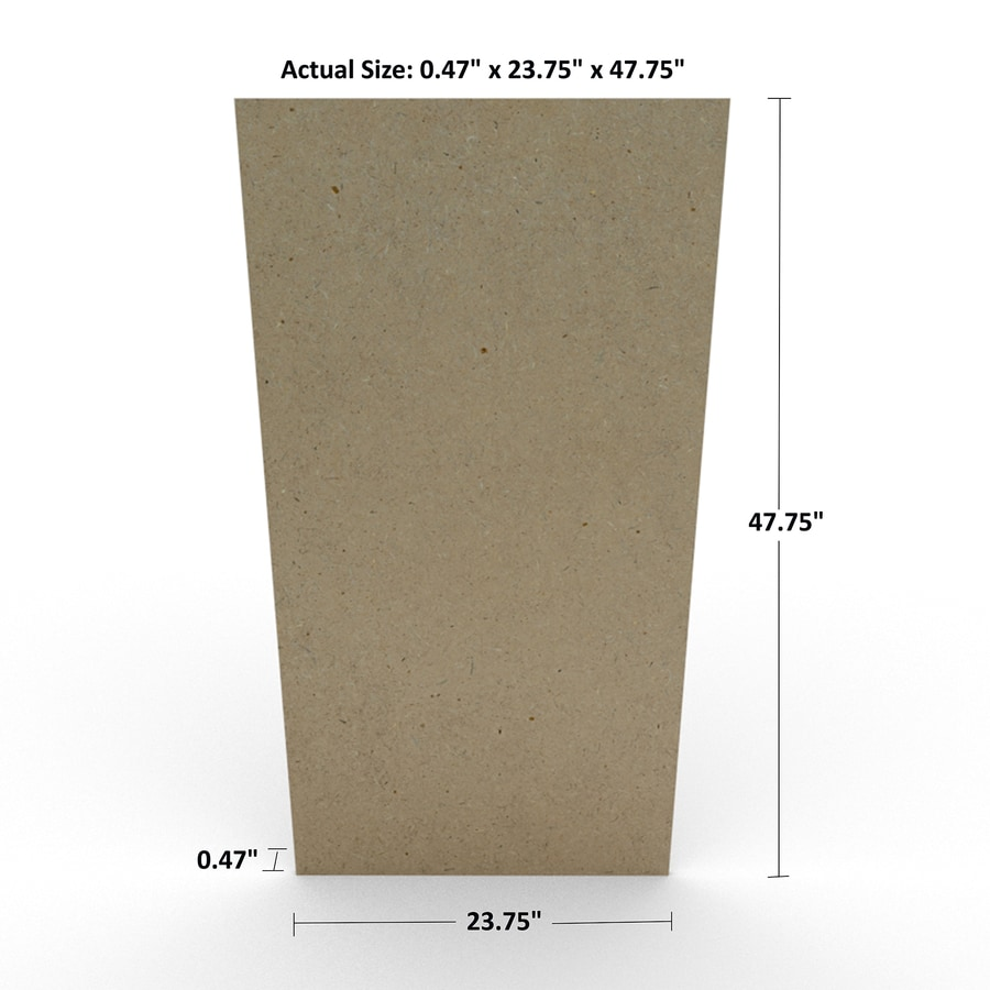 Shop medium density mdf actual in ft at