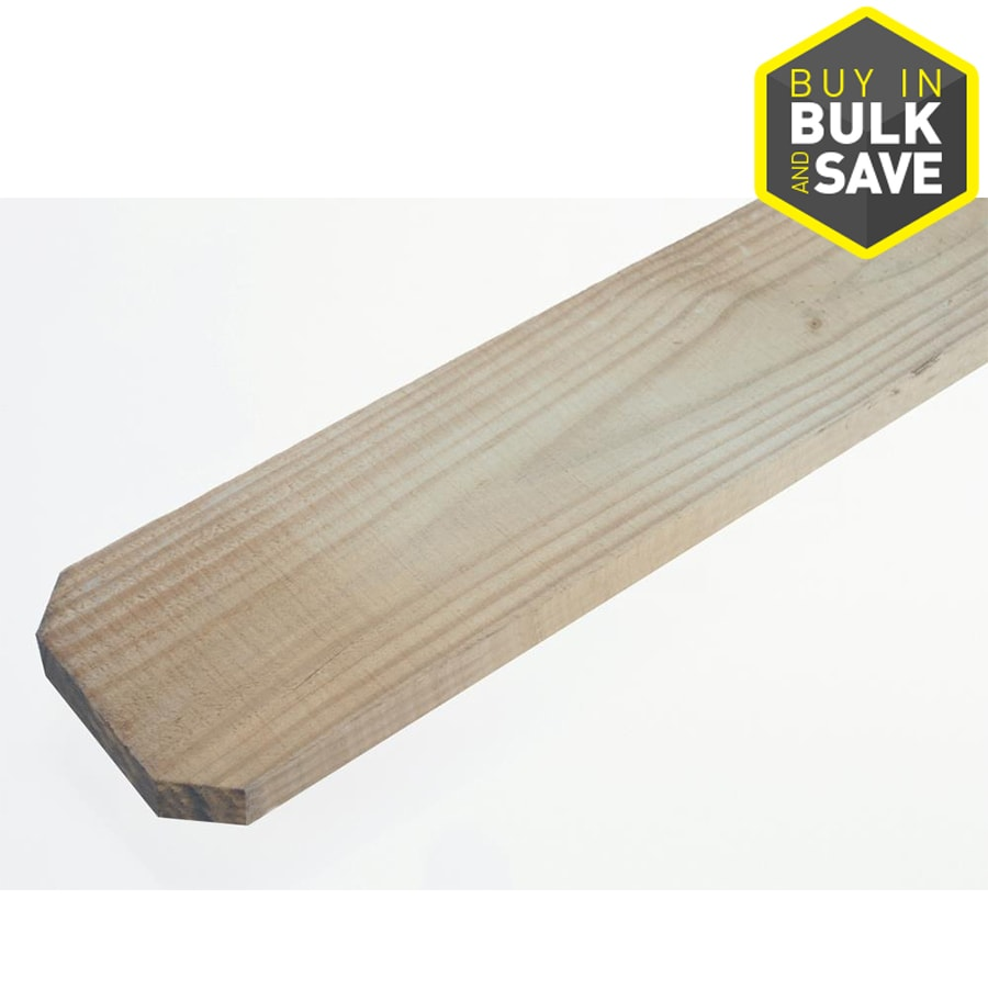 Severe Weather Natural Spruce Pine Fir Fence Picket (Common: 1-in x 4-in x 8-ft; Actual: 0.7187-in x 3.5-in x 8-ft)
