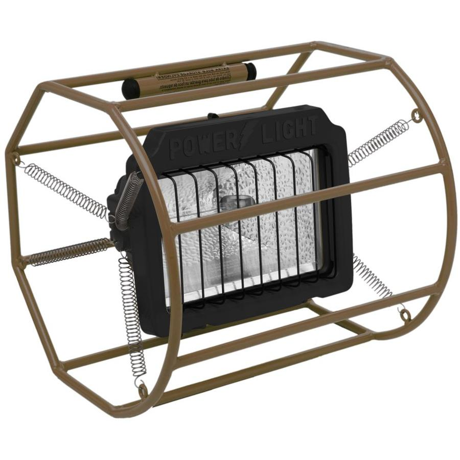 Designers Edge 1-Light 500-Watt Halogen Portable Work Light