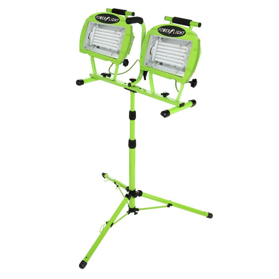 Designers Edge 2-Light 130-Watt Fluorescent Stand Work Light