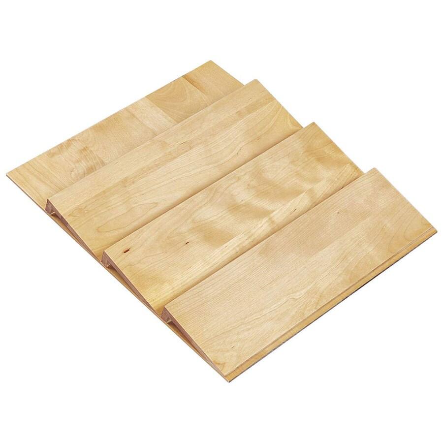 Shop Rev-A-Shelf 19.75-in x 22-in Wood Spice Tray Insert ...