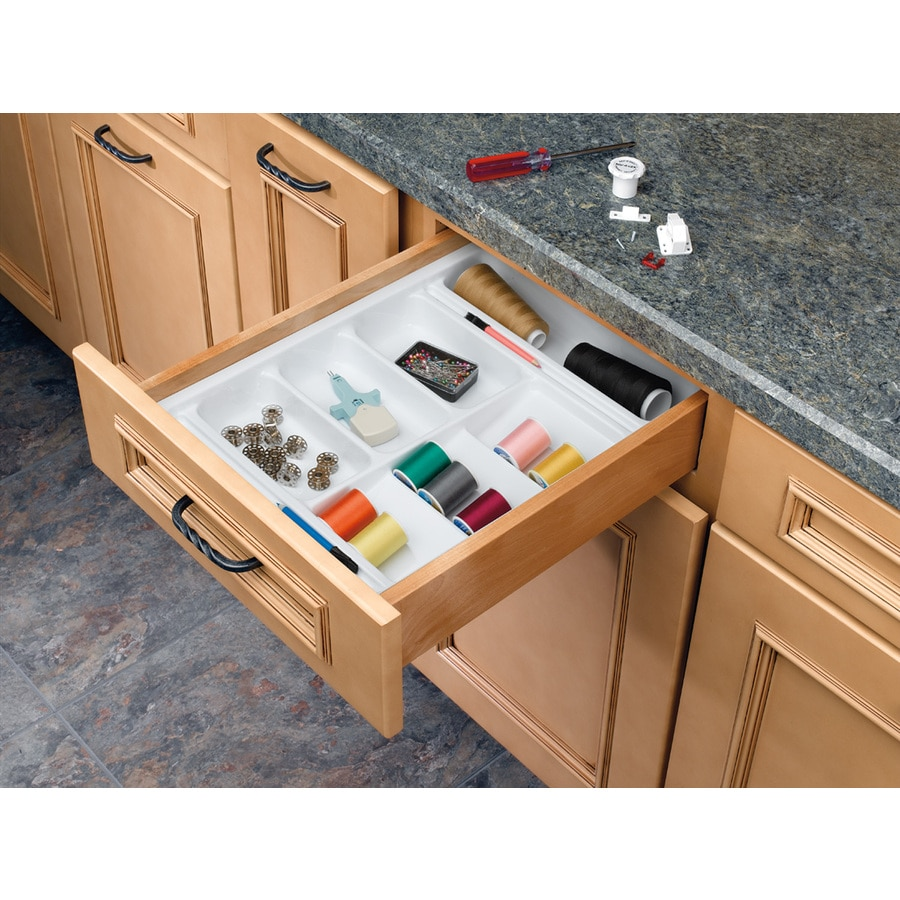 Bathroom drawer organizers