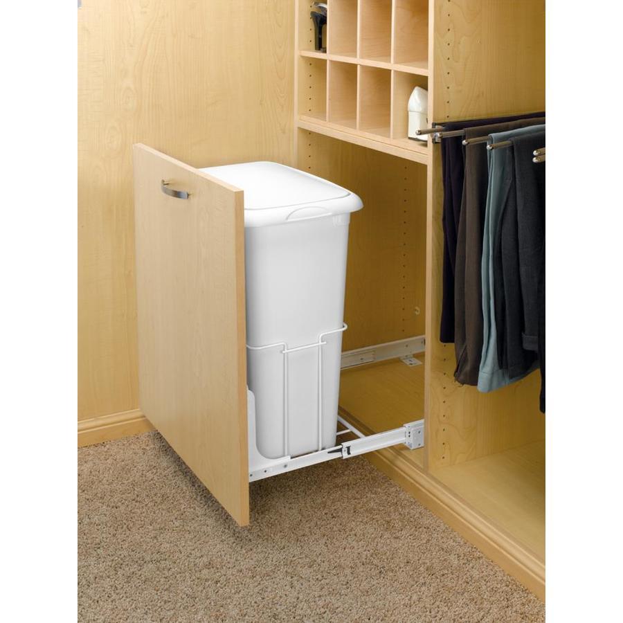 Rev-A-Shelf 1 -Bushel Mixed Materials Clothes Hamper
