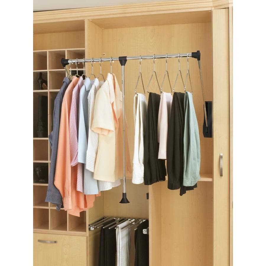 Rev A Shelf Premiere Pull Down Shelving System For: Shop Rev-A-Shelf Large Pull-Down Rod At Lowes.com