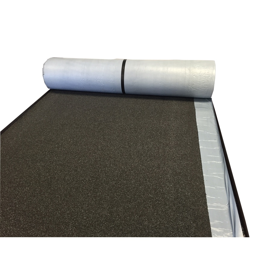 Tarco EasyStick Plus 3-ft W x 36-ft L 108-sq ft Black Roll Roofing