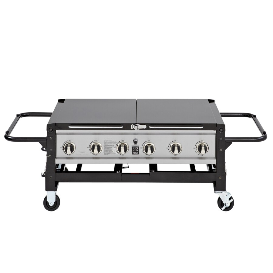 Master Forge 6 Burner Event Grill 6-Burner (75,000-BTU) Liquid Propane Gas Grill