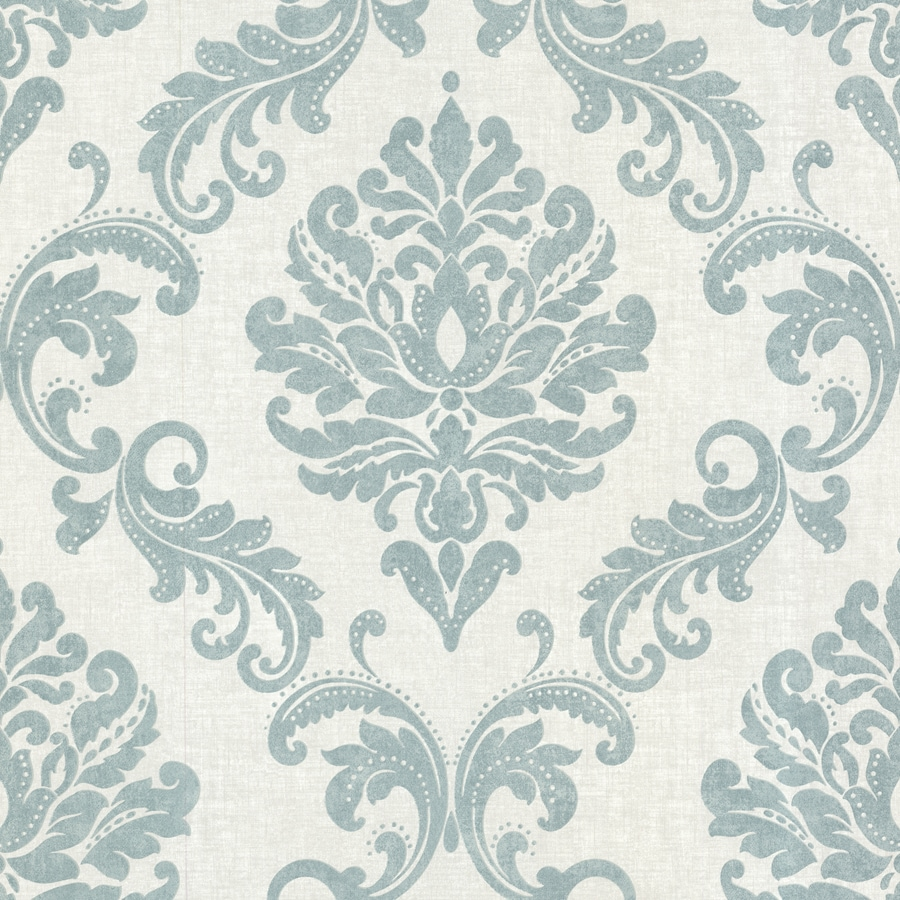 Brewster Wallcovering Aqua Strippable Non-Woven Paper Unpasted Classic Wallpaper