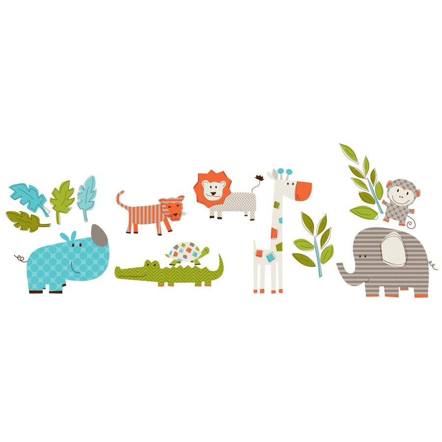 WallPops Peel and Stick Whimsical Wall Stickers