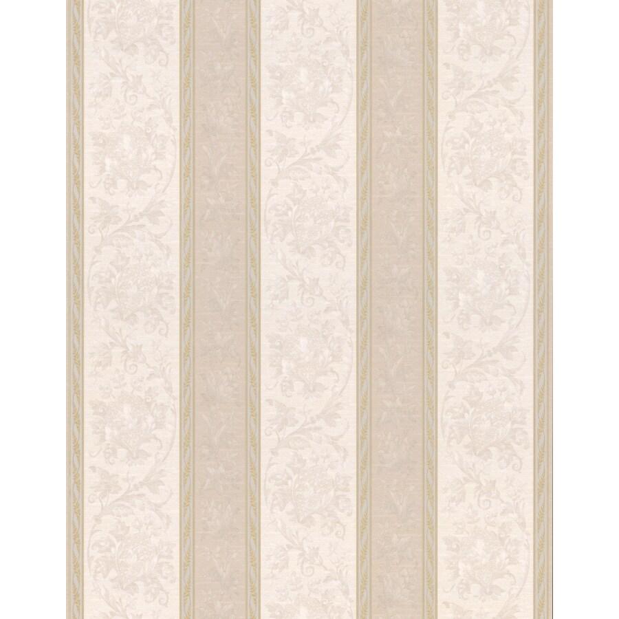 Brewster Wallcovering Floral Stripe Wallpaper