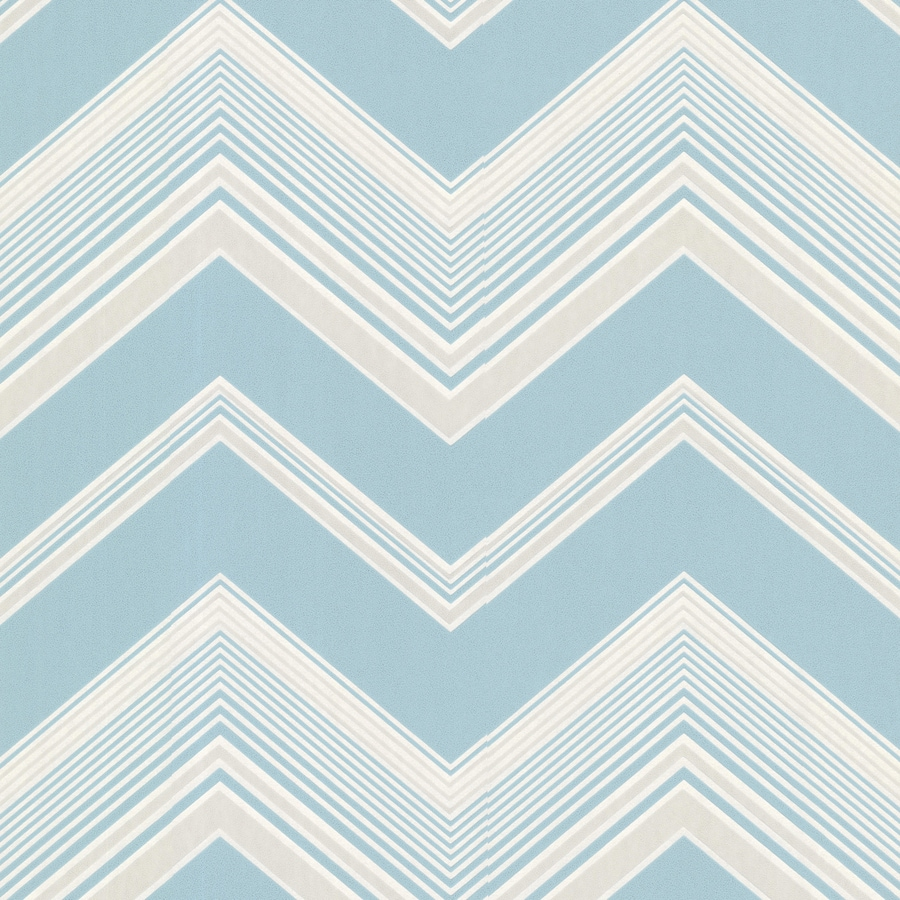 Brewster Wallcovering Light Blue Strippable Non-Woven Paper Unpasted Classic Wallpaper