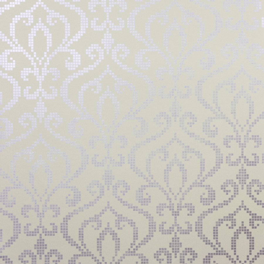 Brewster Wallcovering Lavender Strippable Non-Woven Paper Unpasted Classic Wallpaper