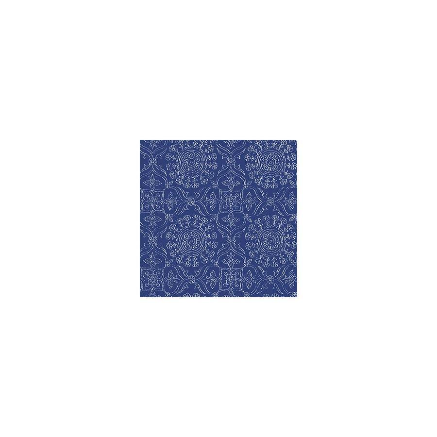 WallPops Blue Repositionable Vinyl Self-Adhesive Classic Wallpaper