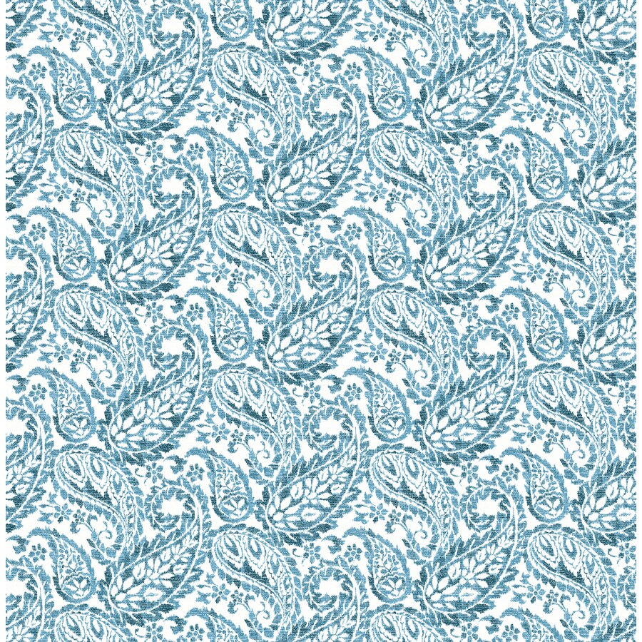 Brewster Wallcovering Blueberry Strippable Non-Woven Paper Unpasted Classic Wallpaper