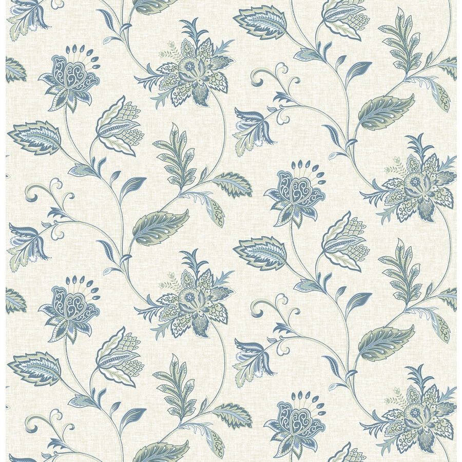 Brewster Wallcovering Denim Strippable Non-Woven Paper Unpasted Classic Wallpaper