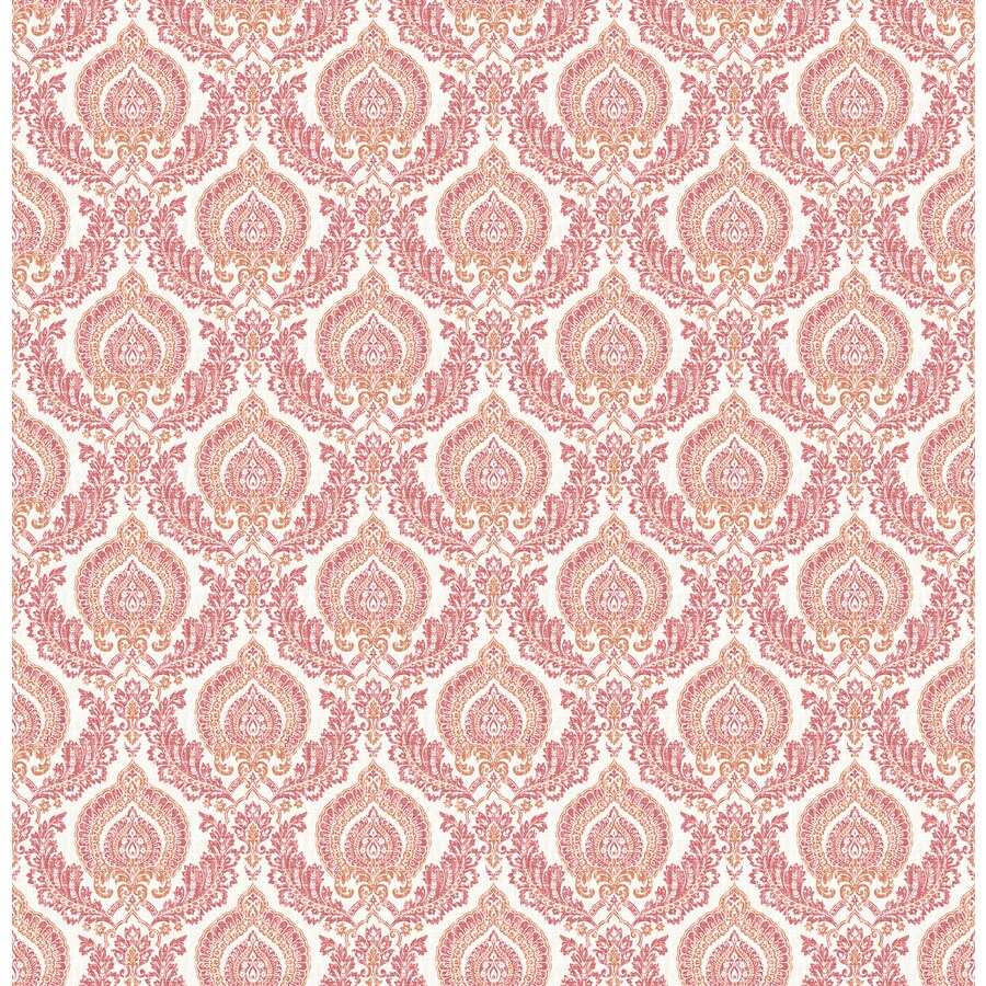 Brewster Wallcovering Rose Strippable Non-Woven Paper Unpasted Classic Wallpaper