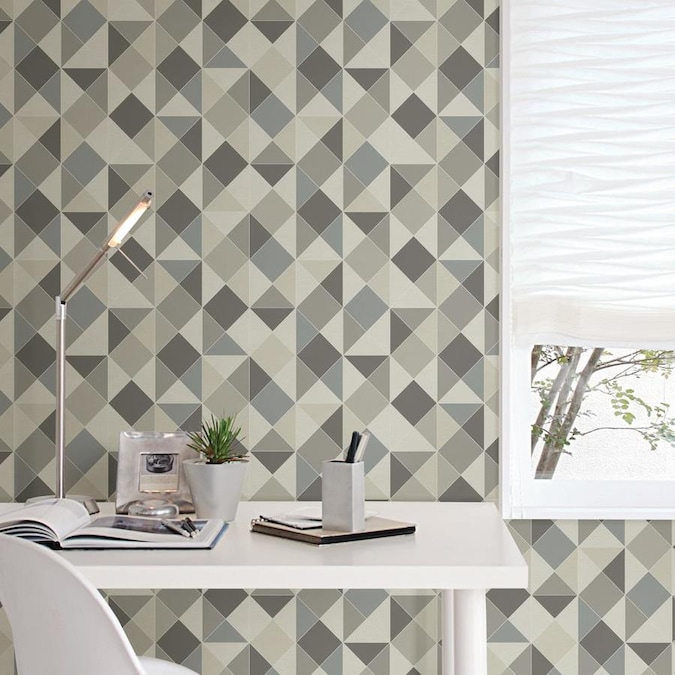NuWallpaper Geo Peel and Stick Wallpaper in the Wall ...