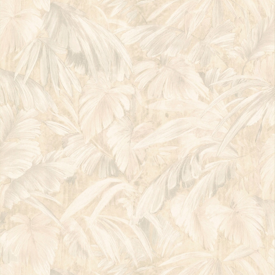 Shop Brewster Wallcovering Beige Peelable Vinyl Prepasted