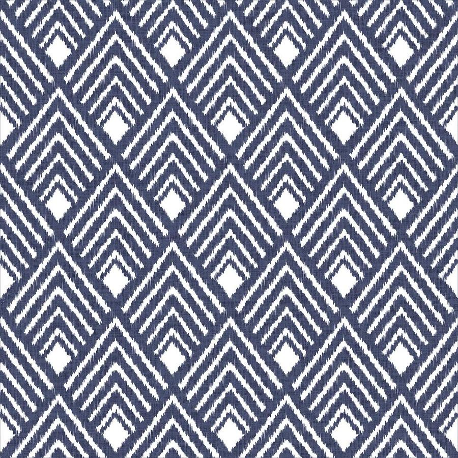 Scott Living 30 75 Sq Ft Indigo Vinyl Textured Geometric 3d Self Adhesive Peel And Stick Wallpaper In The Wallpaper Department At Lowes Com