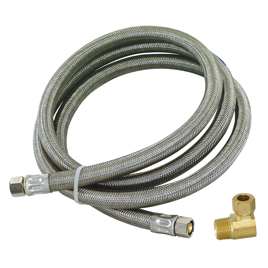 EASTMAN 60-in 1,500-PSI Stainless Steel Dishwasher Connector