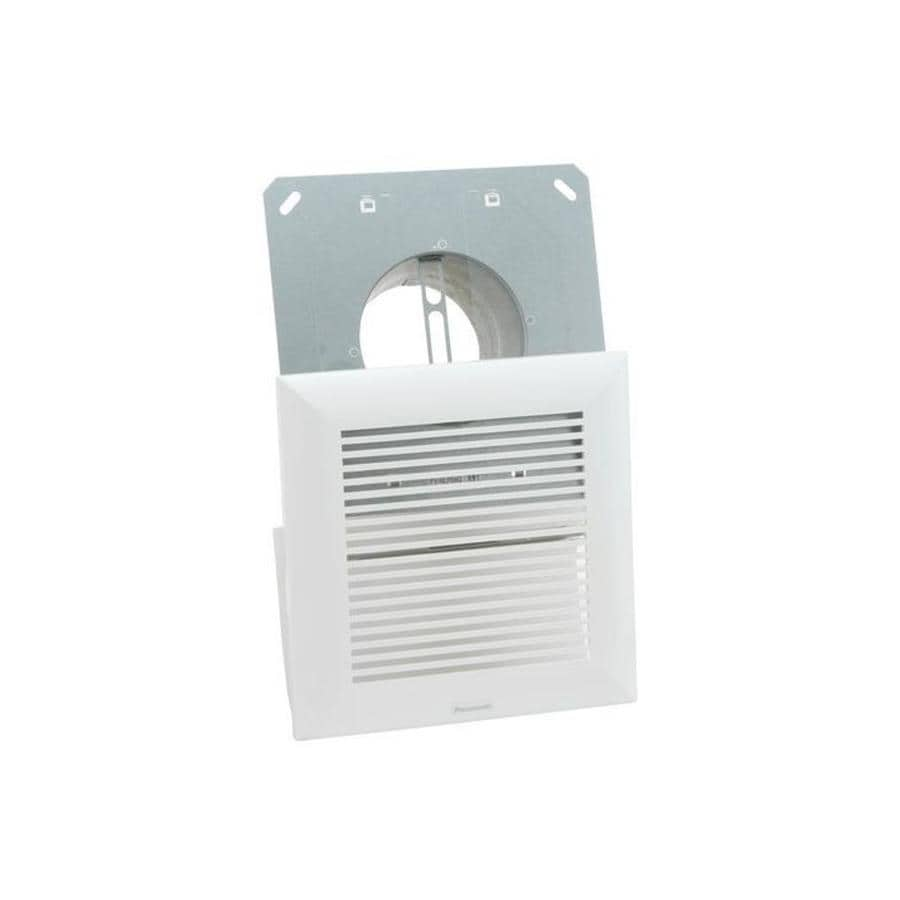 Shop Panasonic Aluminum Wall Vent Kit At Lowes Com