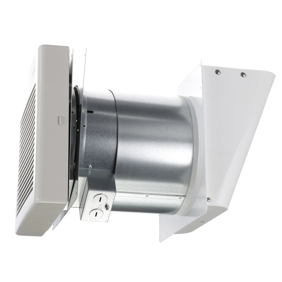 Shop panasonic 1 1 sone 70 cfm white bathroom fan energy for Bathroom exhaust fan lowes