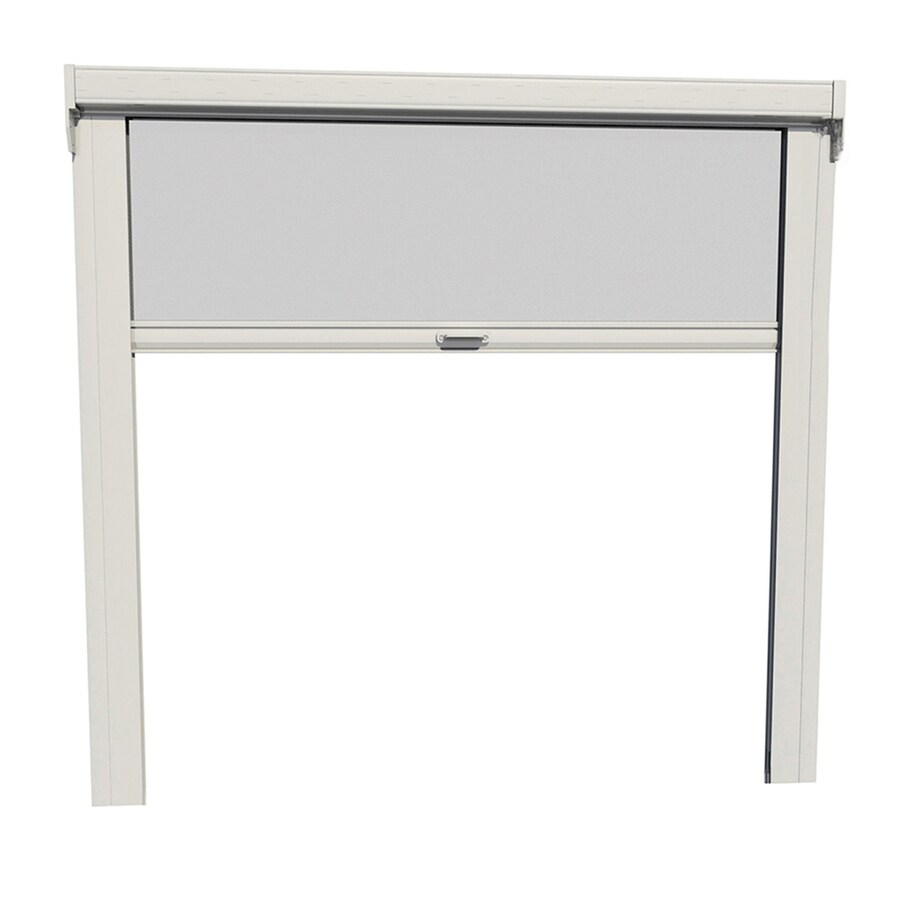 LARSON Escape 9-ft x 96-in White Garage Retractable Screen Door